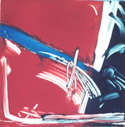 Study in Black, Red and Blue, #8