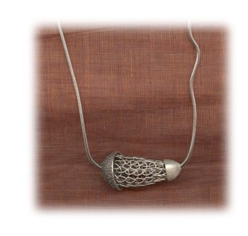 Cocoon Necklace